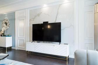 经济型120平米三室两厅美式风格客厅装修图片大全