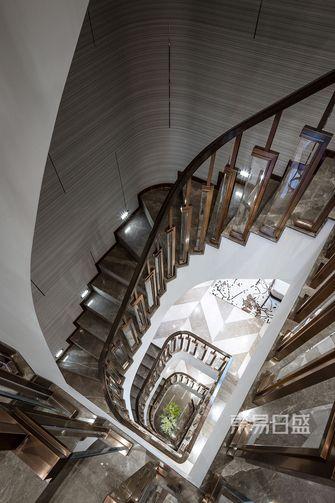 豪华型140平米别墅中式风格楼梯间图片大全