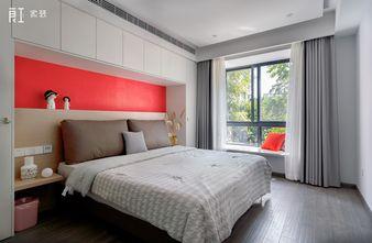 富裕型120平米三室两厅混搭风格卧室装修效果图