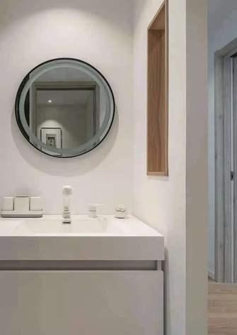经济型80平米三室两厅日式风格卫生间装修案例