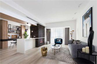 20万以上120平米四室两厅现代简约风格客厅装修效果图