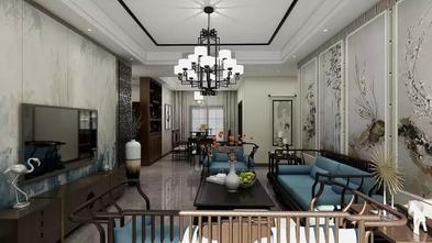 130平米四中式风格客厅装修效果图