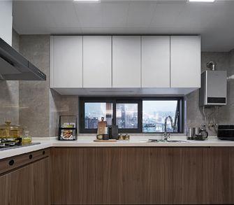 10-15万100平米轻奢风格厨房欣赏图