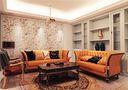 豪华型140平米别墅现代简约风格客厅欣赏图