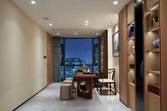 豪华型140平米三室一厅中式风格书房装修图片大全