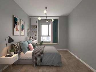 20万以上90平米三室两厅北欧风格卧室装修效果图