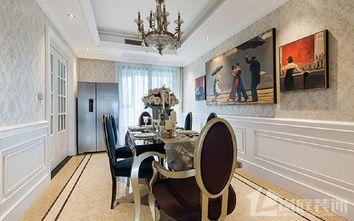 20万以上130平米四室两厅欧式风格餐厅欣赏图