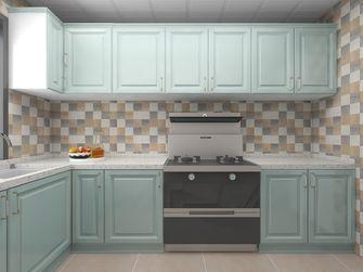 10-15万90平米田园风格厨房装修案例
