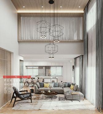 豪华型140平米别墅现代简约风格客厅装修效果图