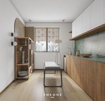 富裕型130平米三室两厅日式风格阳光房装修案例