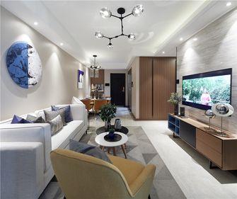三室两厅中式风格客厅设计图