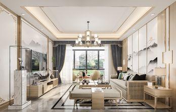 富裕型三室两厅中式风格客厅图片大全