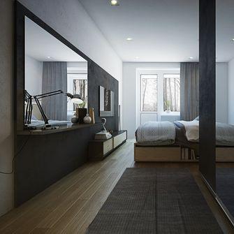 经济型50平米一室一厅北欧风格卧室效果图