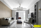 富裕型140平米三室两厅混搭风格客厅图片大全