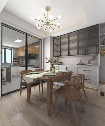 豪华型140平米复式现代简约风格餐厅设计图