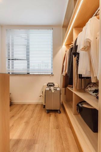 10-15万100平米三室两厅现代简约风格衣帽间图