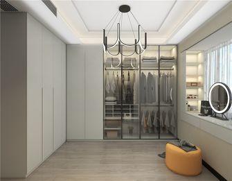 富裕型90平米三室两厅北欧风格衣帽间图片