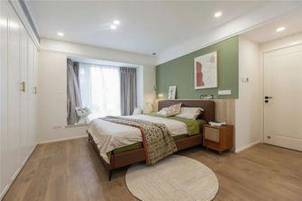5-10万130平米三室两厅北欧风格卧室欣赏图