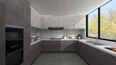 140平米三室三厅现代简约风格厨房装修案例