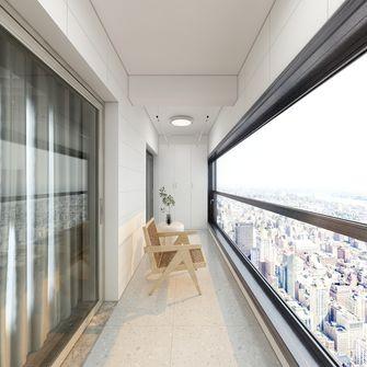 140平米三现代简约风格阳台装修效果图