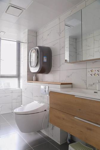 富裕型110平米三室三厅北欧风格卫生间设计图