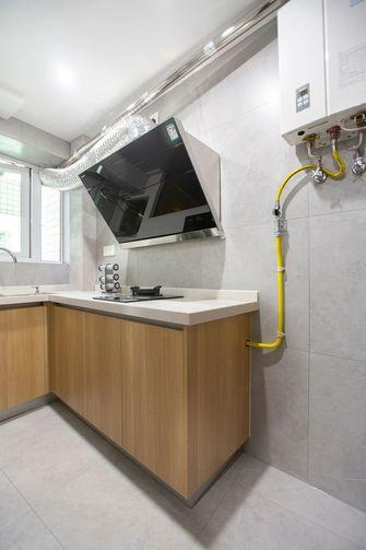 80平米三室一厅日式风格厨房装修图片大全