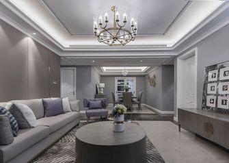 富裕型130平米四混搭风格客厅装修效果图