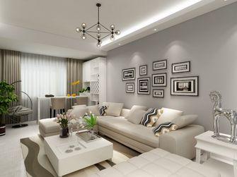 富裕型90平米欧式风格客厅欣赏图