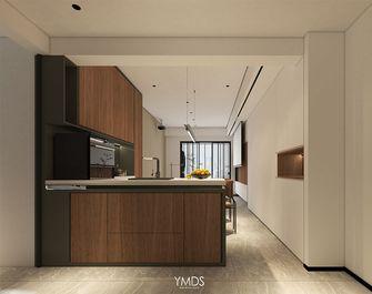 富裕型70平米现代简约风格厨房图片大全