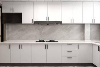 5-10万140平米三室一厅轻奢风格厨房装修效果图