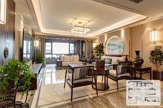 5-10万140平米四室两厅中式风格阳台欣赏图