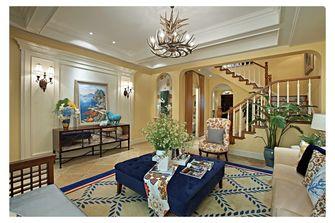 富裕型110平米复式田园风格客厅设计图