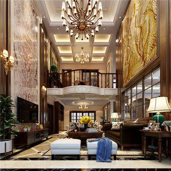 豪华型140平米四田园风格客厅装修案例