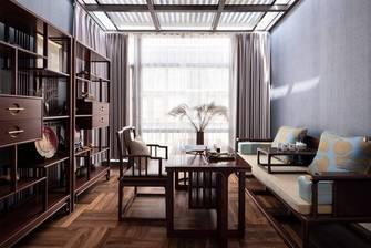 140平米四欧式风格书房效果图