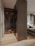 10-15万90平米三室两厅现代简约风格卧室图片