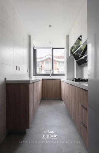 富裕型80平米三室两厅日式风格厨房装修效果图
