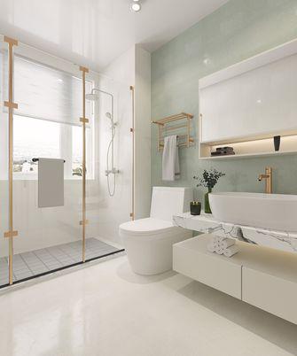经济型140平米四室三厅美式风格卫生间设计图
