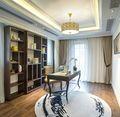 豪华型120平米三室两厅法式风格书房装修效果图