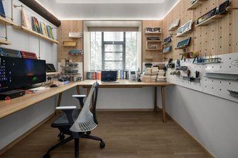 20万以上120平米三室两厅日式风格书房装修案例