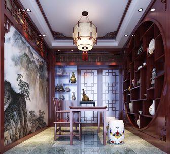 100平米公寓中式风格书房图