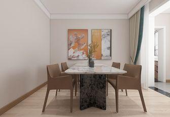 富裕型130平米三室两厅现代简约风格餐厅装修案例