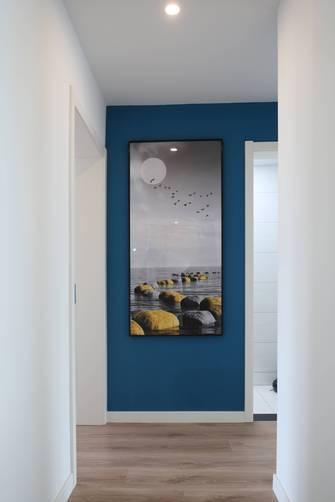 豪华型110平米三现代简约风格走廊装修图片大全