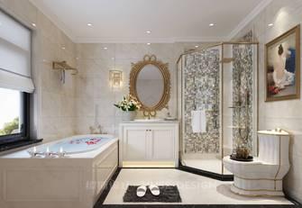 140平米别墅欧式风格卫生间图片
