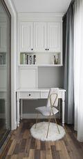 富裕型80平米现代简约风格书房欣赏图