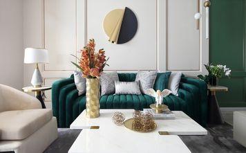三室两厅美式风格客厅设计图