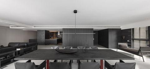 5-10万120平米三室两厅现代简约风格餐厅欣赏图