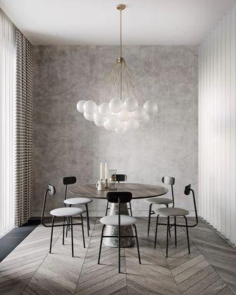 120平米三室一厅港式风格餐厅设计图