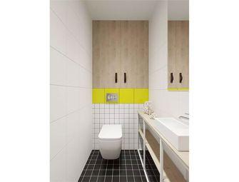 经济型110平米四室两厅法式风格卫生间装修案例