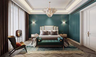 富裕型130平米三室两厅法式风格卧室设计图