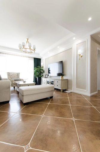 富裕型120平米美式风格客厅装修效果图